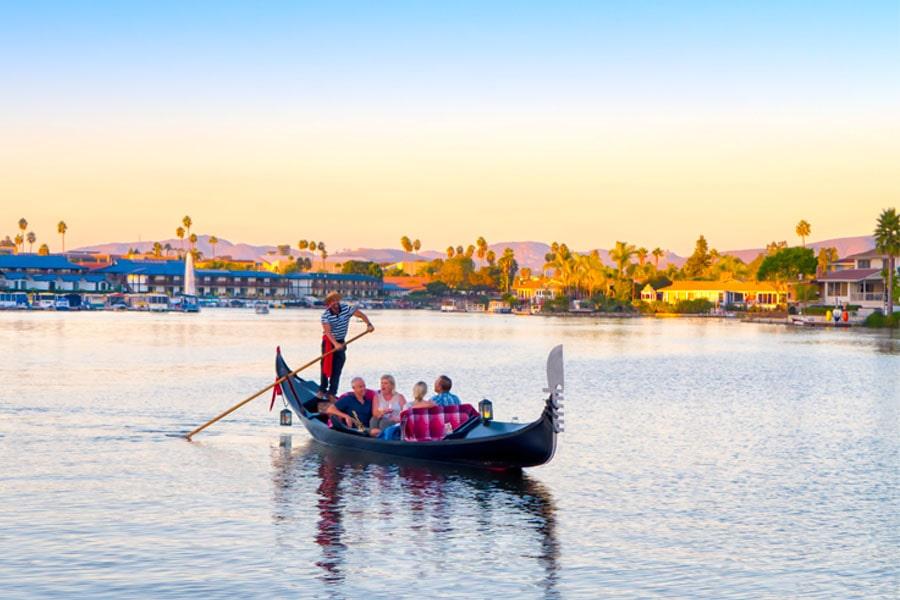 San Diego Date Activity   Black Swan Gondola