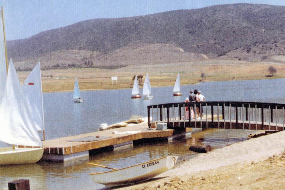 Lake San Marcos | Old Sailing Photo