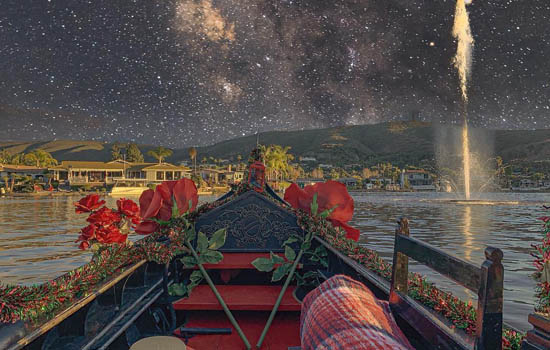 An Enchanted Evening Gondola Ride   North County San Diego Gondola