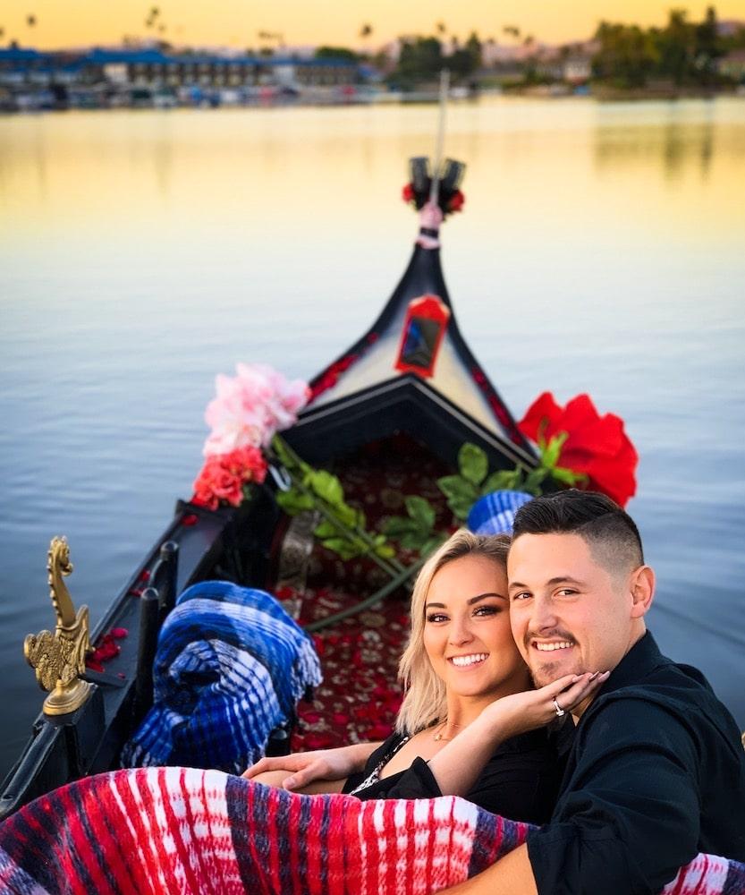The Most Romantic Valentine's Day Idea   Venetian Gondola Ride