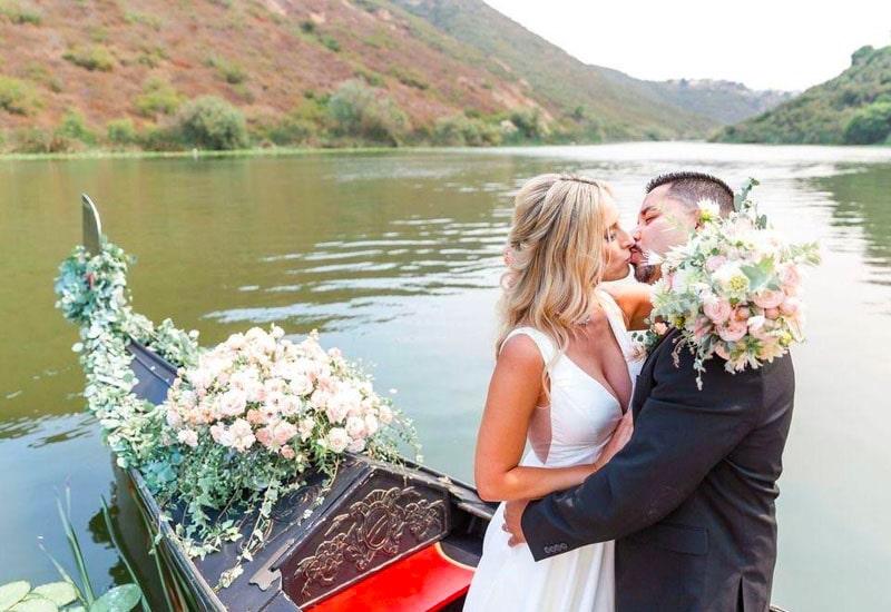 Gondola Wedding in San Diego, CA