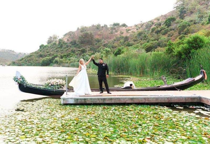 Gondola Wedding | Lake San Marcos, CA