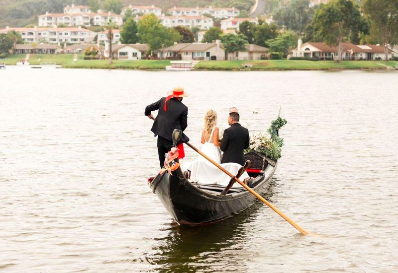 Wedding on a boat in San Diego County