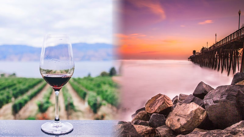Book a Hotel in wine country