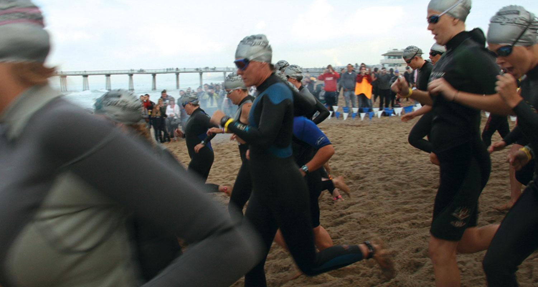 Santa Monica Beach Run