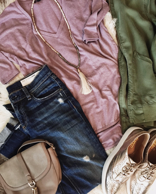 express, tshirt, casual, dressy, versatile, fall fashion, layering, method39, yourstylist, wardrobestylist
