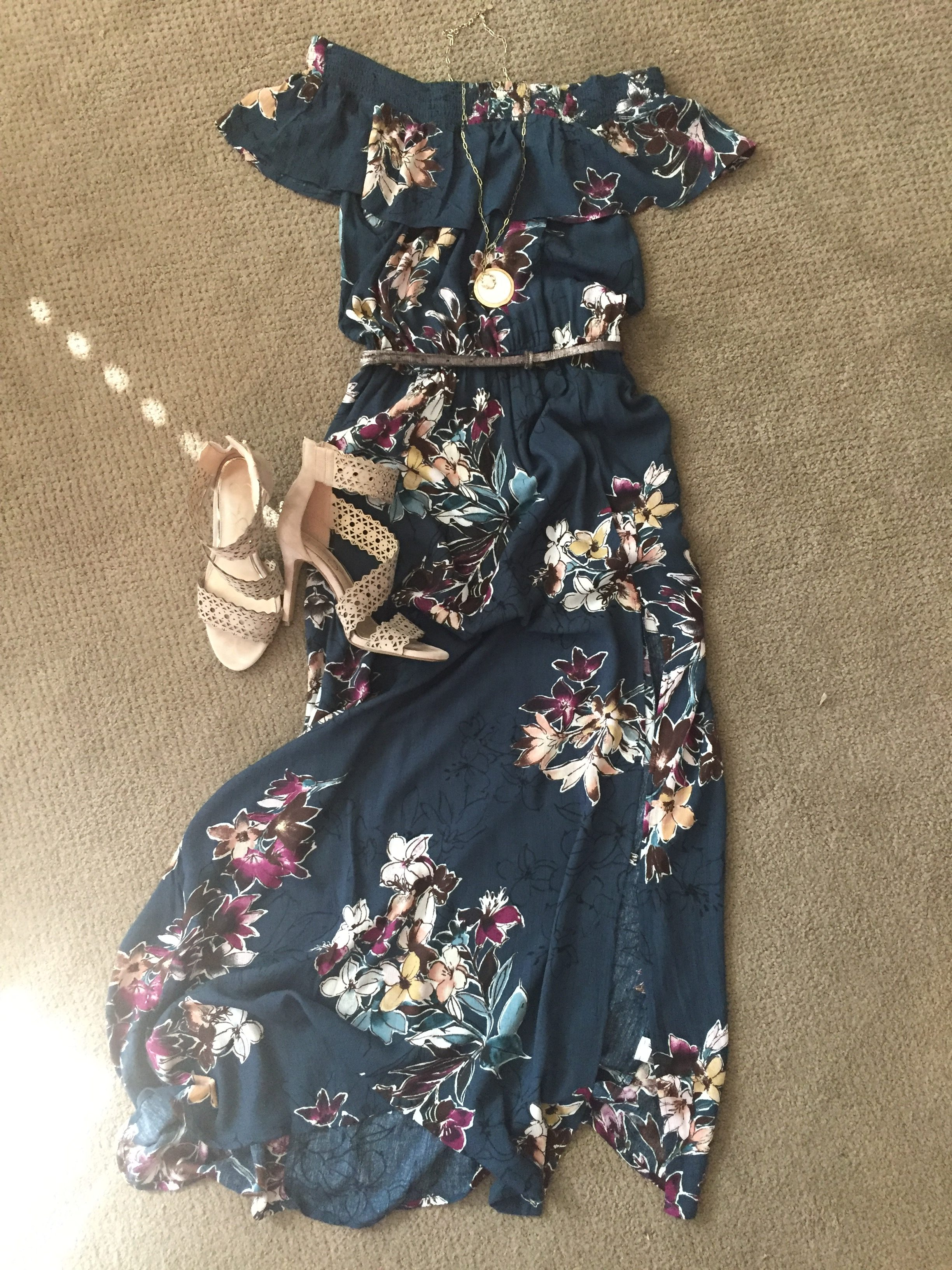 Mother's Day, ootd, my style, method39, target, dsw, maxi dress, stylepost, fashion blogger, fashion blogger, style tips, find your style, pursue pretty, floral, off the shoulder, affordable style, target, heels, jessica simpson, summer style