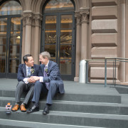 Same-sex wedding at The Library in New York