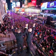 Gay Wedding on New Year's Eve in Times Square