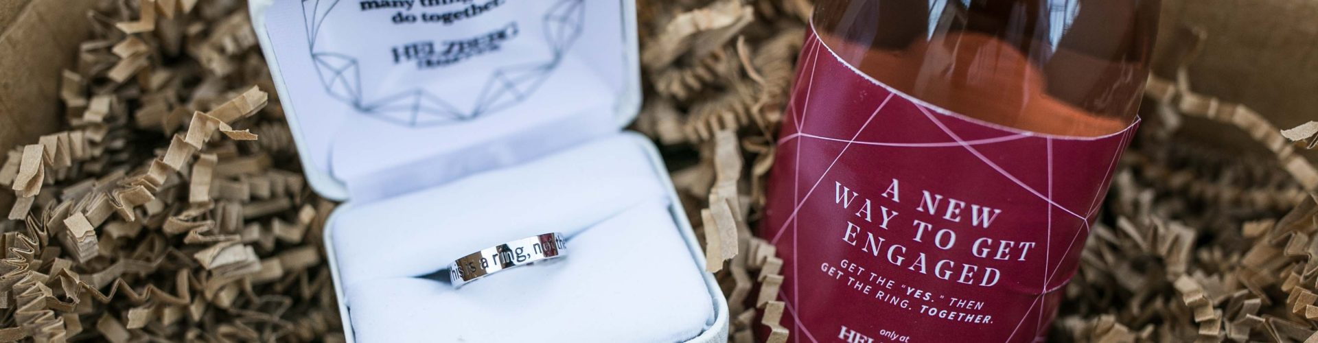 """Breaking the Rules of Engagement, Helzberg Diamonds Introduces The """"Will You?"""" Ring"""
