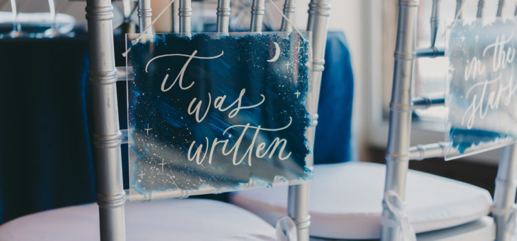 Celestial and Geode Styled Shoot at The Factoria