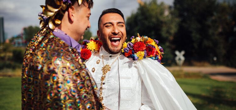 Check Out This Colorful Wedding!