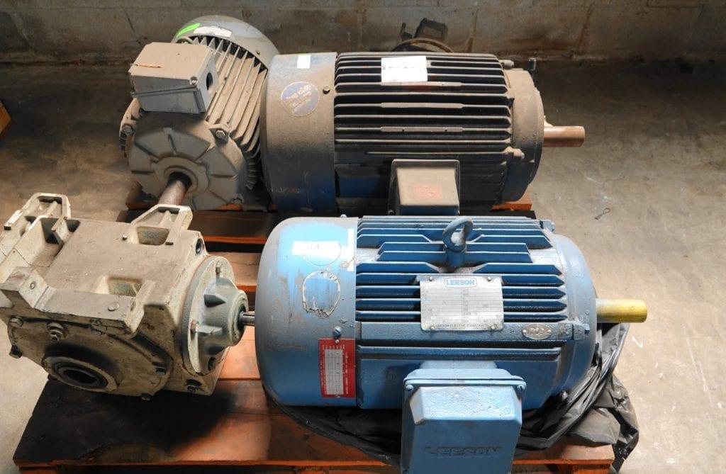 20 hp DC Leeson Motor $400USD