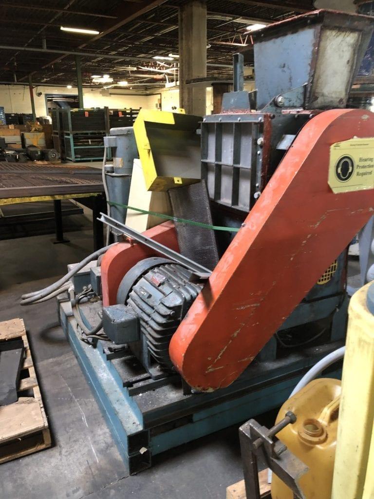 Hydreclaim grinder, dual chamber 50 & 30 hp