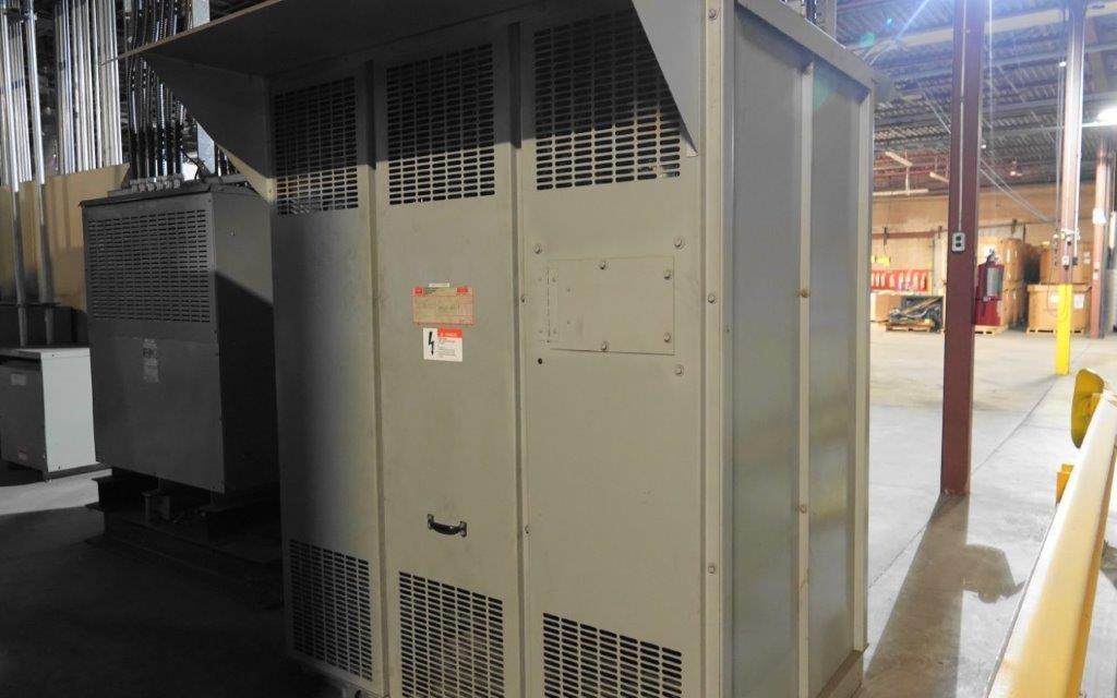 1000 HP DC Motor Isolation Transformer