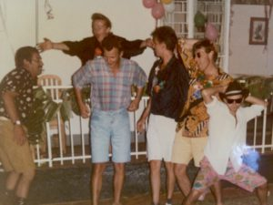 The Shorts and Shades party Michael Palin nearly came to