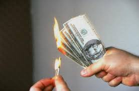 Cash Down Time – That Moment When You Start Burning Money…..