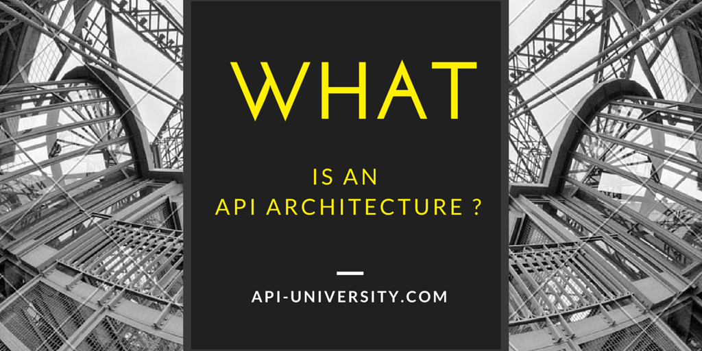 What is API Architecture?