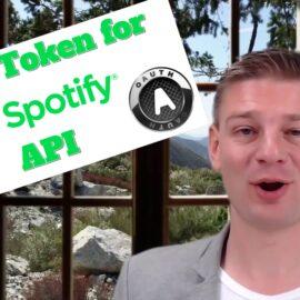 Spotify API OAuth
