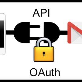google api and oauth