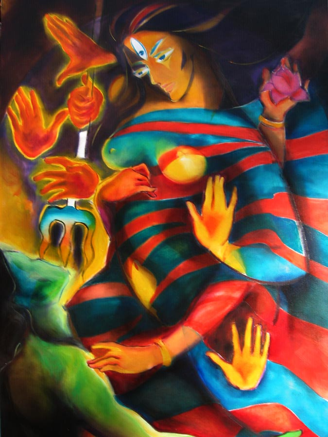 Dilemma of Durga, by T
