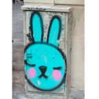 Graffiti Rabbit, Madrid