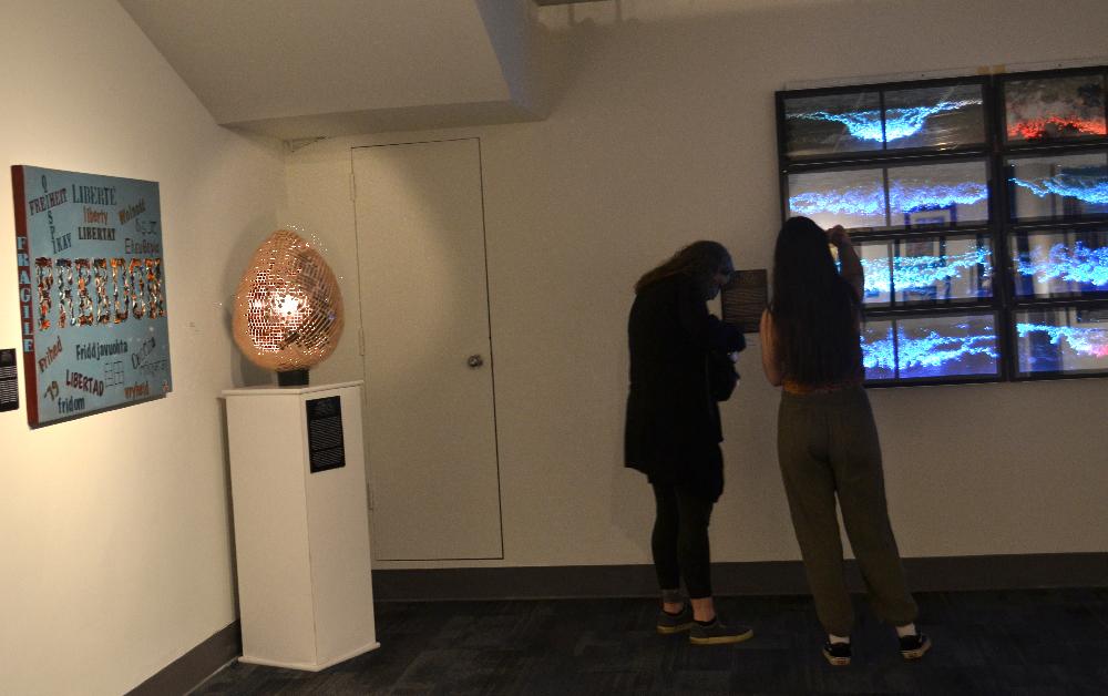 Higgledy Piggledy, sculpture, 2020