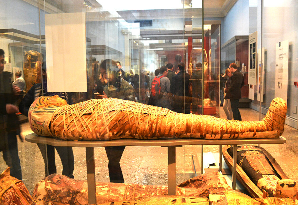 Egyptian Mummy @ British Museum, London, England
