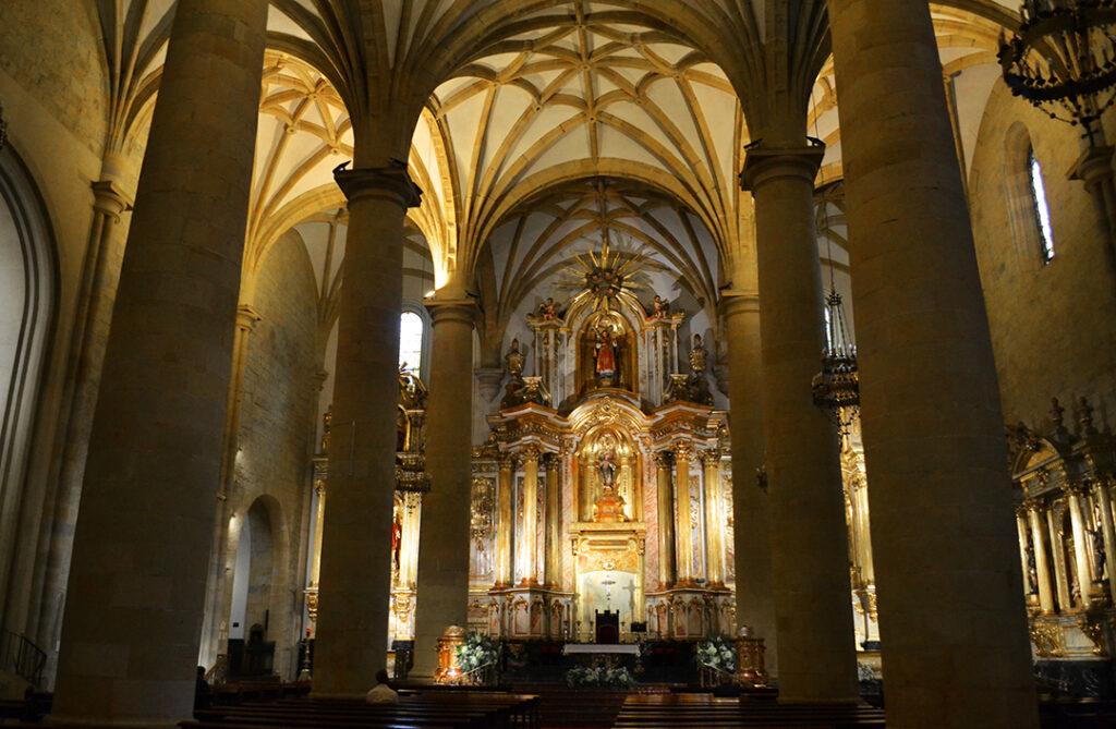 San Vicente Mártir of Abando Byzantine church @ Bilbao, Spain