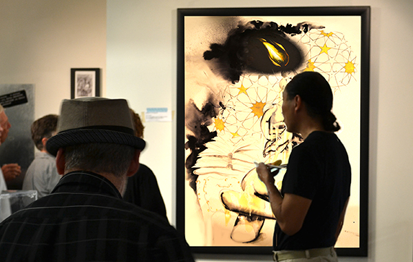 """""""The Kiss"""" at Goggleworks Center for the Arts PA Other Prints & Drawings"""