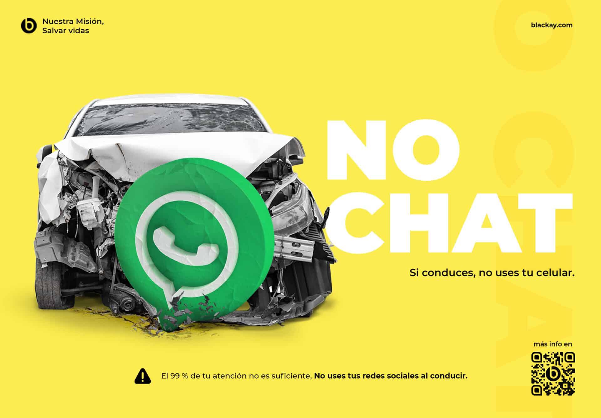 El 99 % de tu atención no es suficiente, No uses tus redes sociales al conducir.