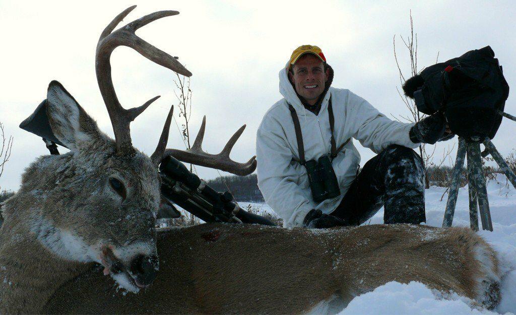 Buck shot at 525 yards
