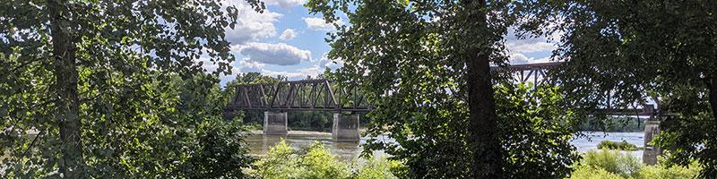 RR Bridge in Grand Rapids