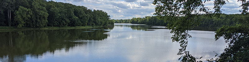 Maumee River scene