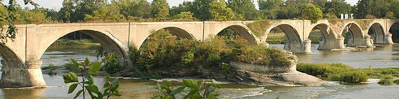 Interurban bridge, Waterville