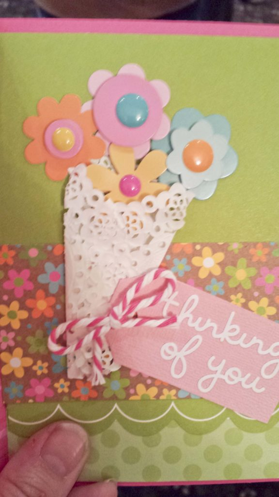 Crop & Create Thinking of You Card