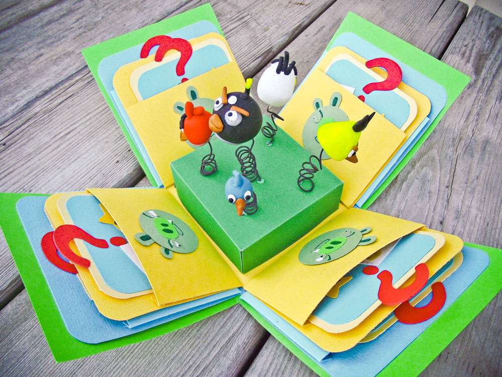 Angry Birds Box Open