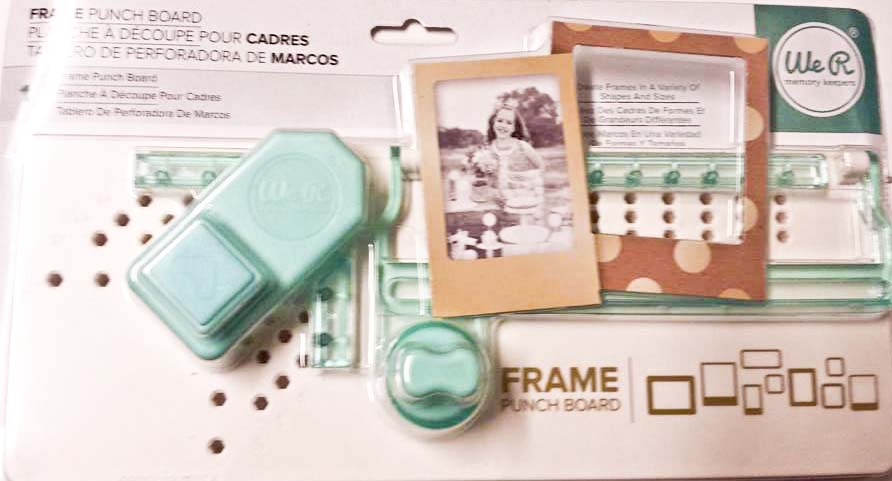 We R Memory Keepers Frame Punch Board – Review