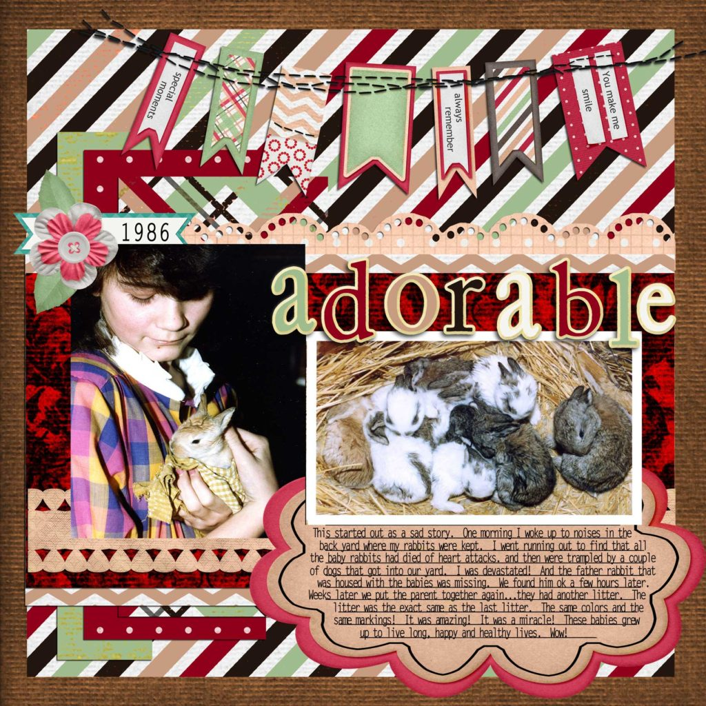 CSI #249 – DIGITAL SCRAPBOOKING LAYOUT