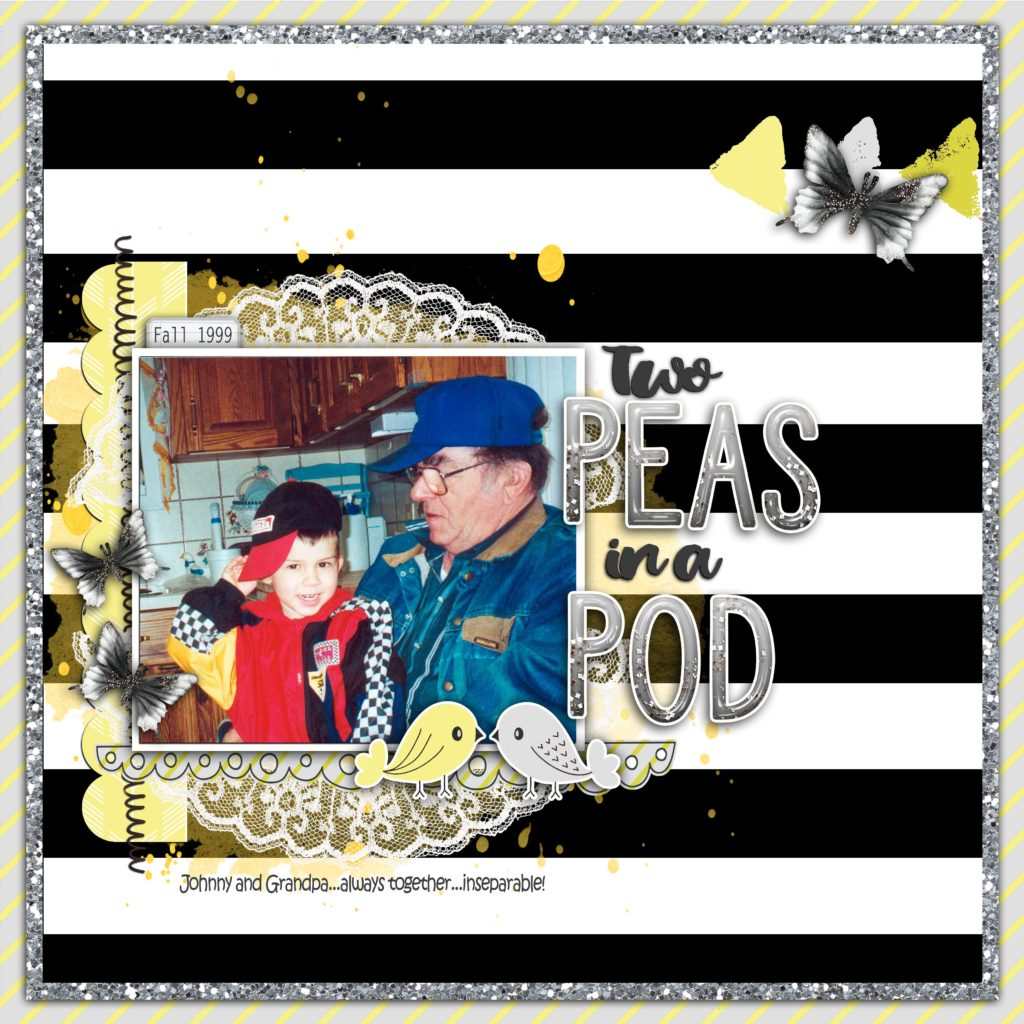 CSI #252 – DIGITAL SCRAPBOOKING LAYOUT