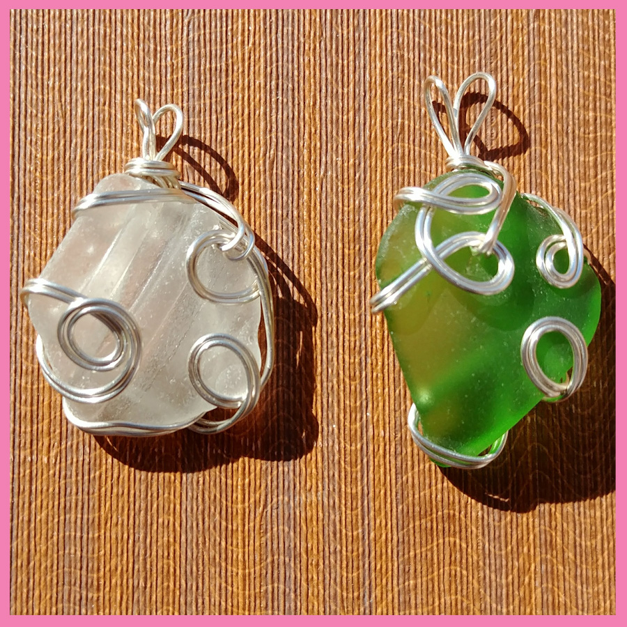 I'M TRYING A NEW HOBBY…SEA GLASS JEWELRY!