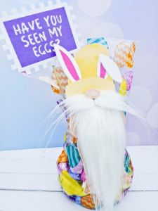 Easter naughty gnome blog photo