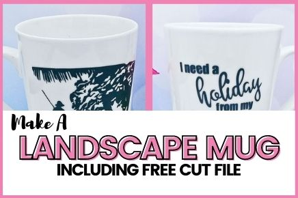 MAKE A HOLIDAY LANDSCAPE MUG THAT WILL MAKE YOU DREAM OF JUST THAT