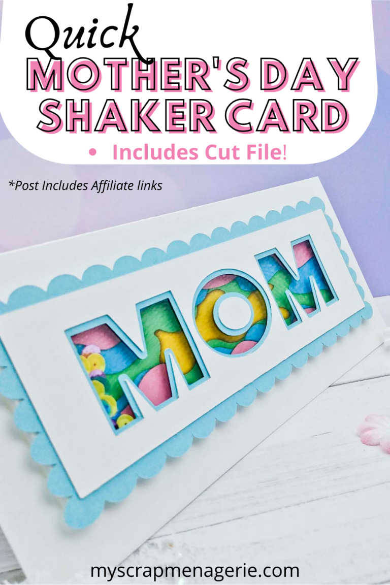 Quick Mother's Day Shaker Card pin1