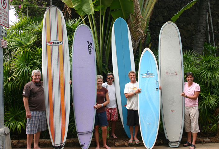 Waikiki Surfboard Rental Free surfboard delivery & pick up!