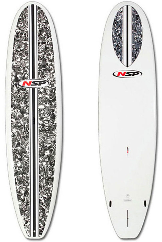 Great for flat water cruising or small wave surfing in Waikiki.