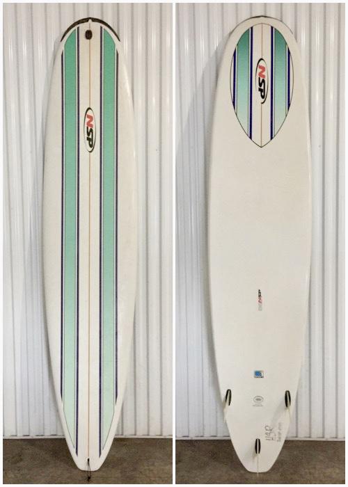 """8'6"""" NSP - Hawaii Surfboard Rentals"""