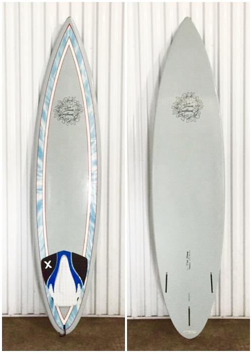 """6'8"""" Dick Brewer Backdoor - Hawaii Surfboard Rentals"""