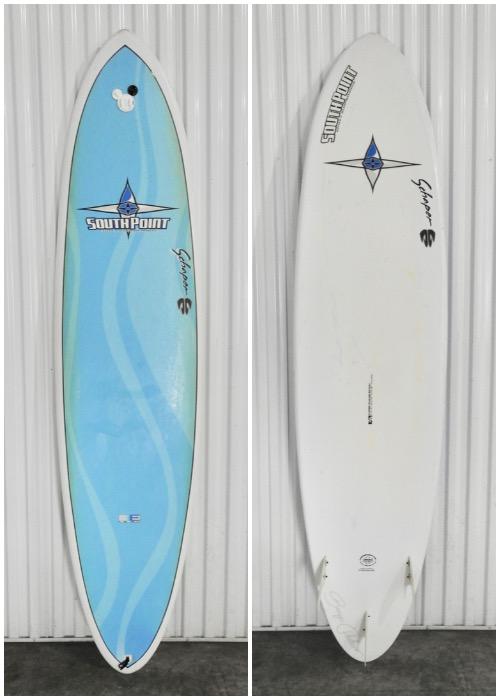 "7'6"" South Point 'Bonga Model' - Hawaii Surfboard Rentals"