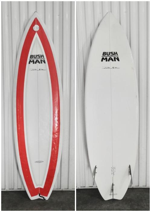 "6'3"" Bushman 'Pancho Sullivan Model' - Hawaii Surfboard Rentals"